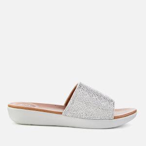 FitFlop Women's Sola Slide Sandals - Silver