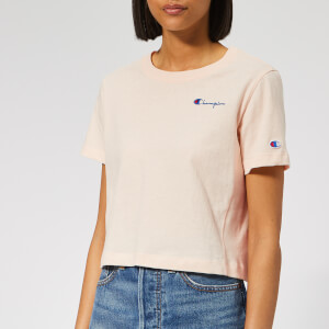 Champion Women's Cropped Short Sleeve T-Shirt - Pink