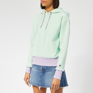 Champion Women's Hooded Sweatshirt - Green