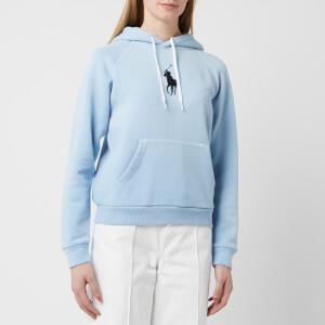Polo Ralph Lauren Women's Shrunken Classic Polo Hoodie - Powder Blue