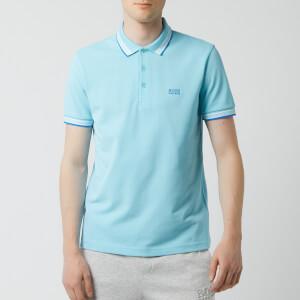 BOSS Men's Paddy Tipped Polo Shirt - Pale Blue