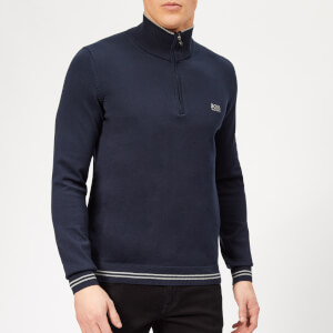 BOSS Men's Zimex Jumper - Navy