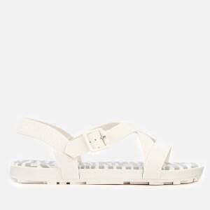 Vivienne Westwood for Melissa Women's Hermanos Strappy Sandals - White