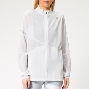 Reebok Women's OSR Hero Running Jacket - White