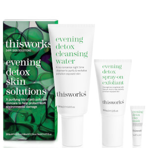 this works Evening Detox Skin Solution (Worth £58.20)