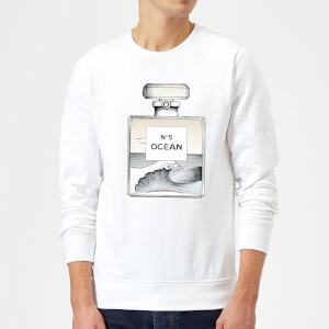 Barlena Ocean No5 Sweatshirt - White