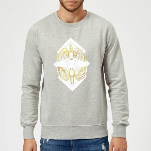 Barlena Moth Sweatshirt - Grey