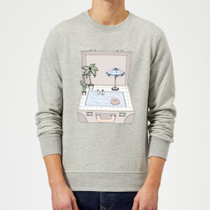 Pool To Go Sweatshirt - Grey
