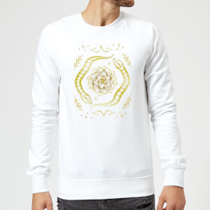 Barlena Snakes Sweatshirt - White