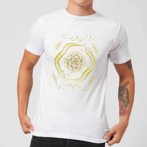 Barlena Snakes Men's T-Shirt - White