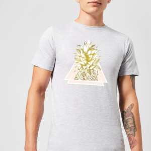 Barlena Pineapple Men's T-Shirt - Grey