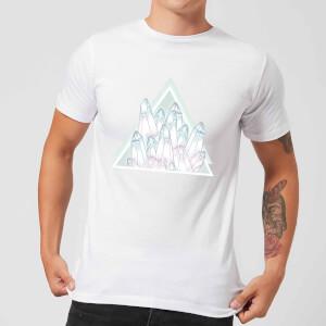 Barlena Crystals Men's T-Shirt - White