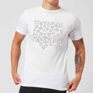 Barlena Diamond Shower Men's T-Shirt - White
