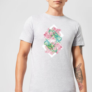 Barlena Flowers Men's T-Shirt - Grey
