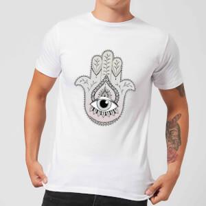 Barlena Hamsa Hand Men's T-Shirt - White