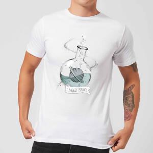Barlena I Need Space Men's T-Shirt - White