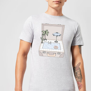 Barlena Pool To Go Men's T-Shirt - Grey