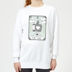 Barlena The Like Women's Sweatshirt - White