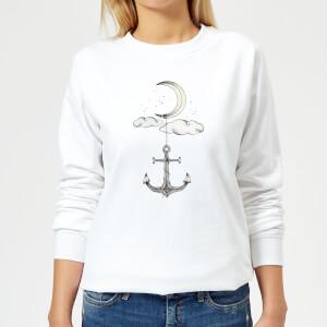 Barlena Anchor Your Dreams Women's Sweatshirt - White