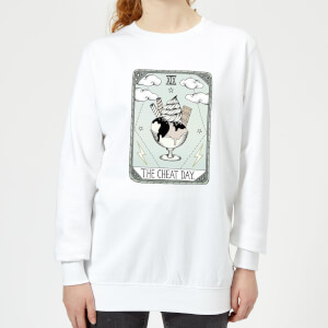 Barlena The Cheat Day Women's Sweatshirt - White