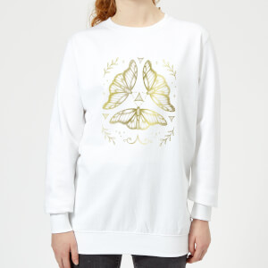 Barlena Fairy Dance Women's Sweatshirt - White