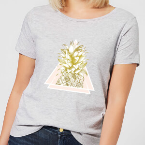 Barlena Pineapple Women's T-Shirt - Grey