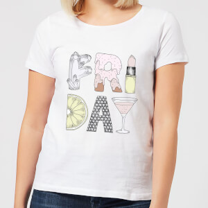 Barlena Friday Women's T-Shirt - White
