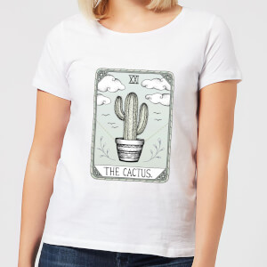 Barlena The Cactus Women's T-Shirt - White
