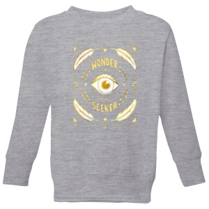 Barlena Wonder Seeker Kids' Sweatshirt - Grey