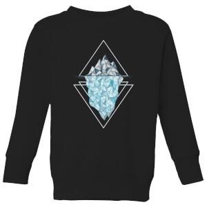 Barlena Iceberg Kids' Sweatshirt - Black