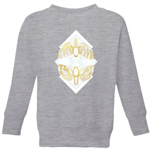 Barlena Moth Kids' Sweatshirt - Grey
