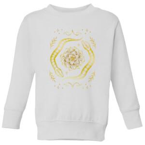 Barlena Snakes Kids' Sweatshirt - White