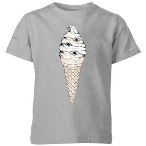 Barlena Eyes Cream Kids' T-Shirt - Grey