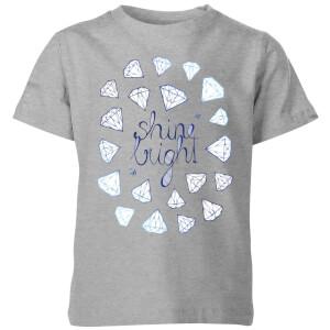 Shine Bright Kids' T-Shirt - Grey