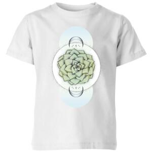 Sempervivum Kids' T-Shirt - White
