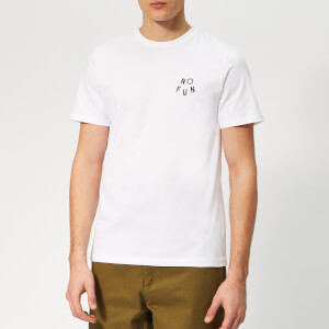 A.P.C. Men's No Fun T-Shirt - Blanc