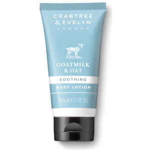 Crabtree & Evelyn Goatmilk & Oat Body Lotion 50ml (Free Gift)