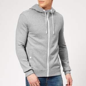 BOSS Men's Zounds Zip Hoodie - Grey