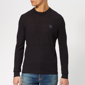 BOSS Men's Kadrisly Knitted Jumper - Navy