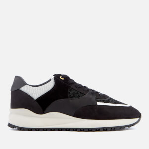Android Homme Men's Belter 3.0 Stingray Suede Trainers - Carbon Black/White