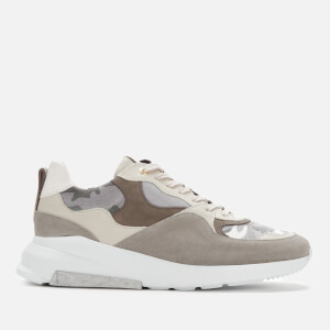 Android Homme Men's Malibu Camo Velvet Trainers - Snow Camo/Light Grey