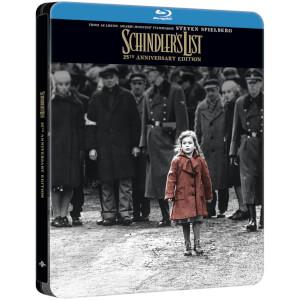 La Liste de Schindler - Édition 25ème anniversaire - Steelbook 4k Exclusif Limité pour Zavvi