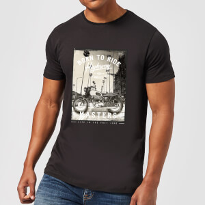 Born To Ride Men's T-Shirt - Black