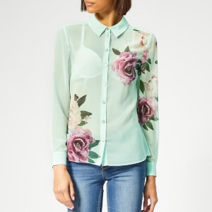 Ted Baker Women's Zaylaa Magnificent Blouse - Mint