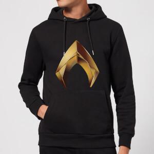 Aquaman Symbol hoodie - Zwart