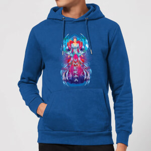Aquaman Mera Hourglass Hoodie - Royal Blue