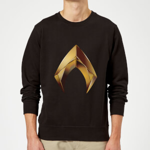 Aquaman Symbol Sweatshirt - Black