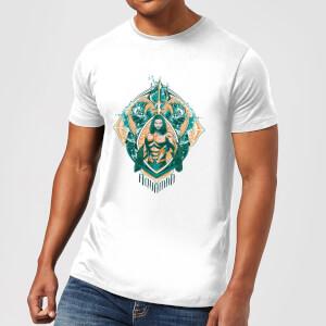 Aquaman Seven Kingdoms Herren T-Shirt - Weiß