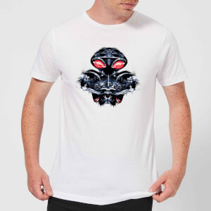 Aquaman Black Manta Sea At War Men's T-Shirt - White