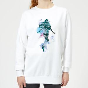 Aquaman Mera True Princess Women's Sweatshirt - White